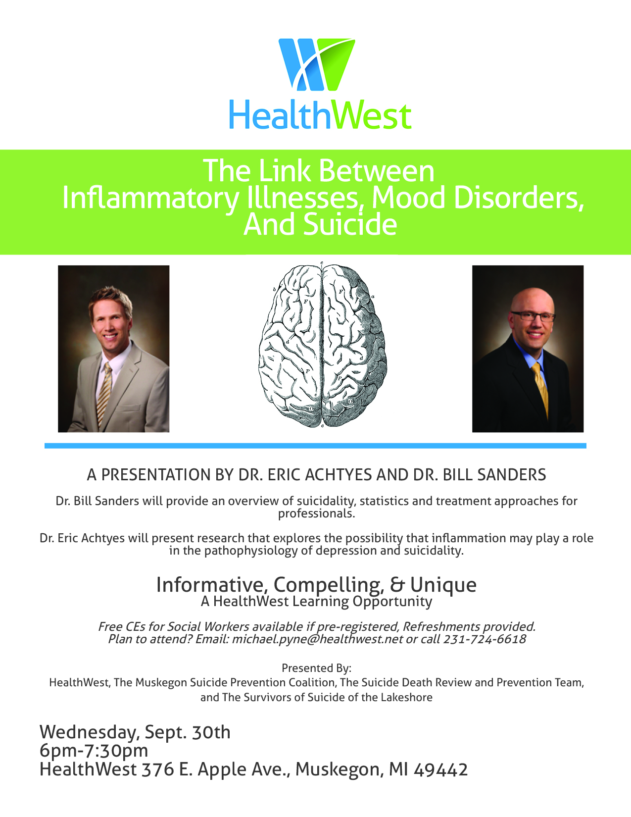 Suicide Research Presentation Inflammatory Illnesses and